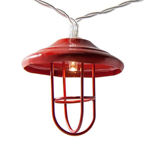 Red Lantern LED Light String Party Lights