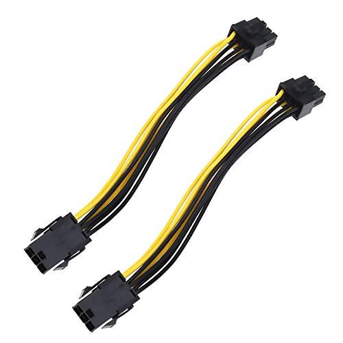 OTOTEC 6pin naar 8pin grafische kaart voedingsadapter 18 CM Express Power Converter kabel