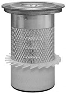 All States Ag Parts Filter - Outer Air Element with Fins and Lid PA3924-FN Compatible with Zetor 5320 7320 3320 4320 5340 6320 4340 6340 3340 7340 79011284 John Deere 2300 2400