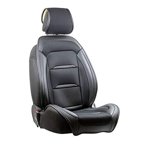 Vordersitzbezug Xynon für Magic Edition I Sitzbank Fiat Ducato 2.3 130 Multijet (2011) (), 1 Stück, schwarz