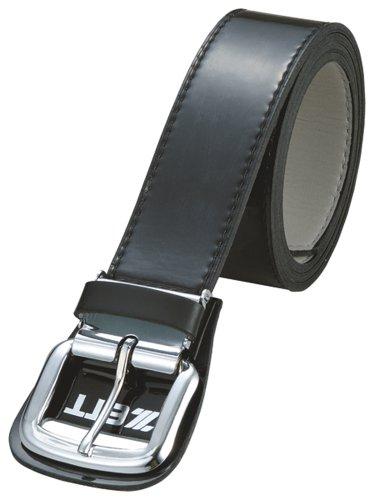 ZETT(ゼット) 野球 ベルト (エナメル) BX92 ブラック