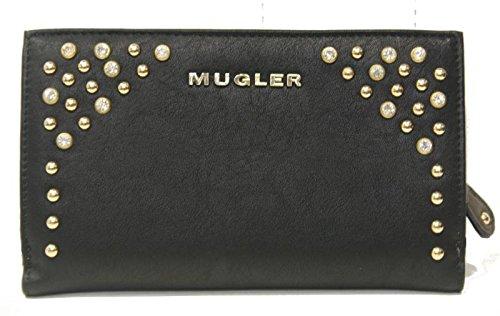Thierry Mugler Damen Empire Pm1 Geldbörsen, Schwarz (Noir 0133), One Size