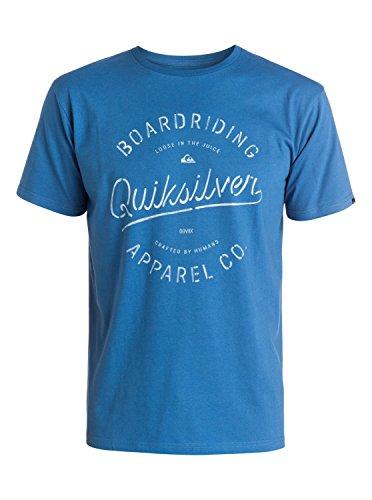 Quiksilver Rhino Chase–Camiseta Hombre, Hombre, Rhino Chase, Federal Blue, L (Talla del Fabricante: L)