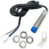 GALDOEP 1PCS de Sensor de proximidad inductivo,Sensor de proximidad Bx,Detector de interruptorLJ12A3-4-Z/Bx Detector (3 Cables) 4 mm CC 6-36 V,para Impresora 3D