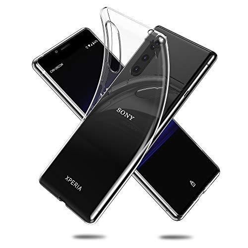 Voviqi Hülle für Sony Xperia 5, Hülle für Sony Xperia 5 Handyhülle für Sony Xperia 5- Crystal Clear Ultra Dünn Durchsichtige Silikon Schutzhülle TPU Case für Sony Xperia 5, Transparent
