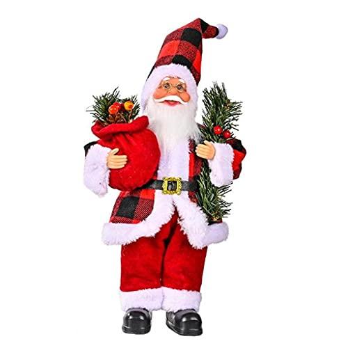 Navidad Claus Muñeca Santa Claus Árbol Colgando Adorno Atmósfera De Navidad Decoración del Hogar Decoración De Fiesta Decoración Estilo2