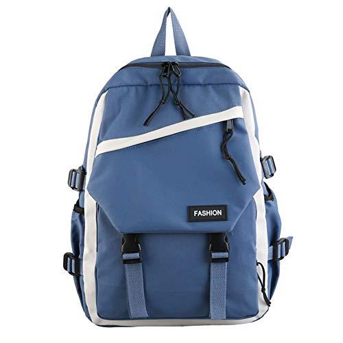 REGEN Shoulder Bag Women's Shoulders with Casual School Travel Laptop Tablet Bags a Large Backpack Canvas Travel Bag Bag Women's Bag/Blue