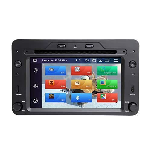 ZLTOOPAI Lettore multimediale per auto per Alfa Romeo 159 Brera Spider Sportwagon Android 10 Octa Core 4G RAM 64G ROM IPS Single Din Car Radio Audio Stereo Navigazione GPS