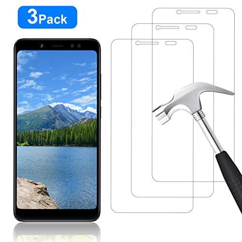 YIEASY [3 Stück Panzerglas für Xiaomi Redmi Note 5 Schutzfolie, [Anti Kratzen/Anti-Öl] [Leichte Montage] [Blasenfrei] [3D Touch/9H Festigkeit] - für Xiaomi Redmi Note 5 Bildschirmschutzfolie - Transparent