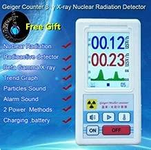 Meiqqm Tragbares Dosimeter Geiger Z/ähler Nuclear Strahlungsmelder R/öntgenbeta Gamma Detektor