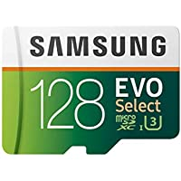 Samsung EVO Select 128GB microSDXC Card with Adapter