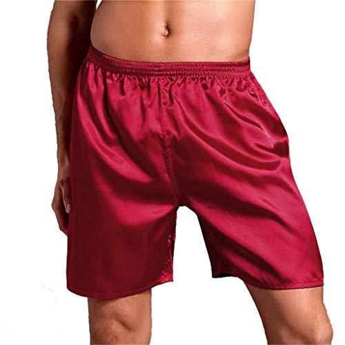 YANFANG Ropa de Dormir para Hombre Ropa Interior Boxers Shorts Pantalones Pijamas Ropa de Dormir Casual Deporte gymnacio Transpirable cómodo Jeans Shorts Denim