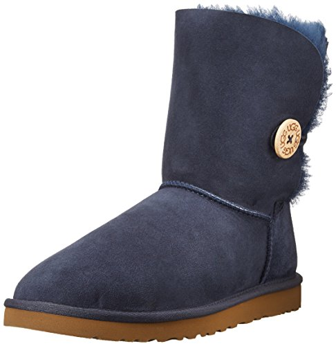 Hot Sale UGG Women's Bailey Button Boots - Size: 9, Navy