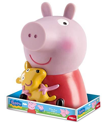 Dekora Hucha Infantil Peppa Pig Piruletas Color rosa