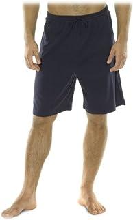 ملابس نوم رجالي قصيرة محبوكة مضلعة 1×1 من نوتيكا