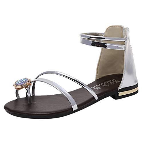 Darringls Sandali Donna Estate Bassi Promozione della Moda Sandali Donna Sandali Gioiello 2019 Estati Nuove Scarpe Comode da Donna