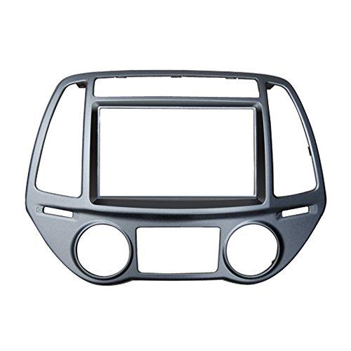 Feeldo Voiture 2DIN DVD radio Façade Cadre Dash stéréo visage d'installation Trim Kit