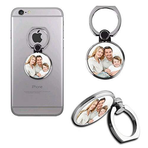 Generic N4U Online® Personalisierbarer Metall-Fotoringständer für Allview P6 Lite