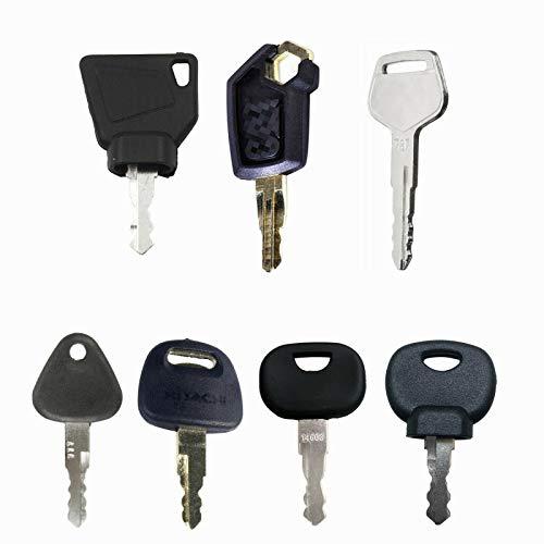 BAAQII Werkzeugschlüssel-Set für JCB CAT VOLVO 14603 14607 mit 7 Schlüsseln