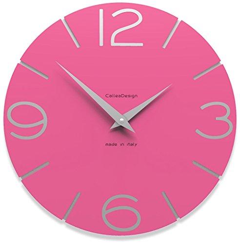CalleaDesign - Reloj de Pared Smile, Fucsia