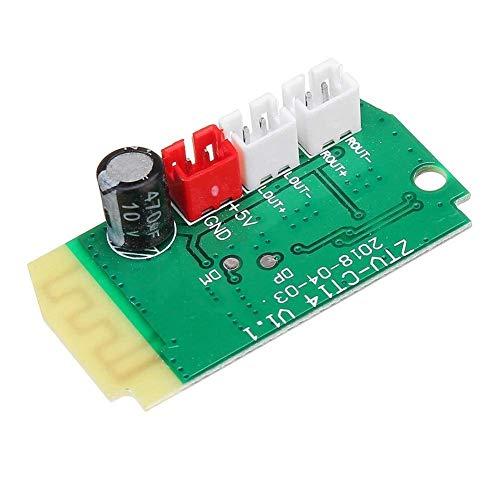 CLJ-LJ 3pcs 3Wx2 Mini Bluetooth Receiver Module with 4Ohm Speakers Power Can Adjust Output Volume Amplifier Board Decoding MP3 Module Spot Steuermodul