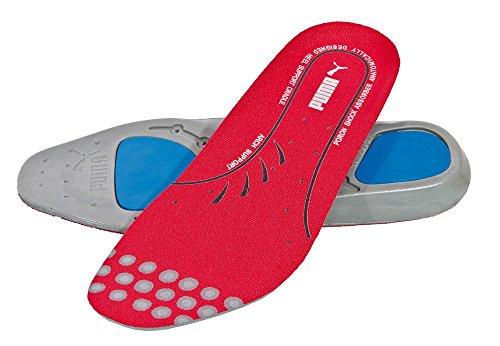 Puma Safety Einlegesohlen evercushion Plus footbed 20.451.0 wechselbares Fußbett für Sicherheitsschuhe, Größe 39, 47-204510-39