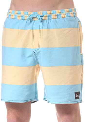 Quiksilver Herren Badehose Brigg Volley EA17, Sunset Gold, L