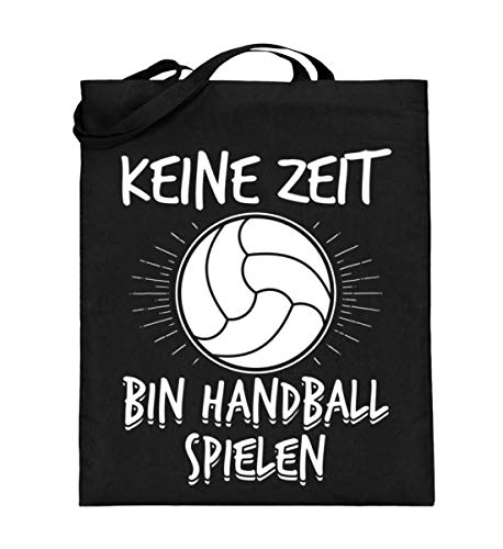 Chorchester Keine Zeit - Bin Handball Spielen - Jutebeutel (mit langen Henkeln)