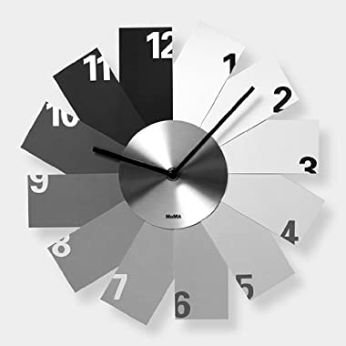 Monochrome Wall Clock by MoMA