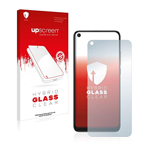 upscreen Protector Pantalla Cristal Templado Compatible con TCL 10L Hybrid Glass - 9H Dureza