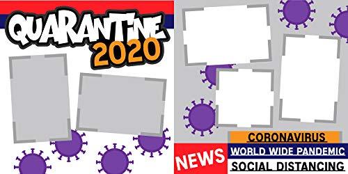 """Quarantine 2020"" Scrapbook Page Kit"