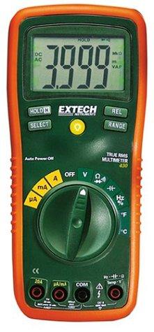 Extech EX430A Professionelles Multimeter mit True RMS und 11 Funktionen