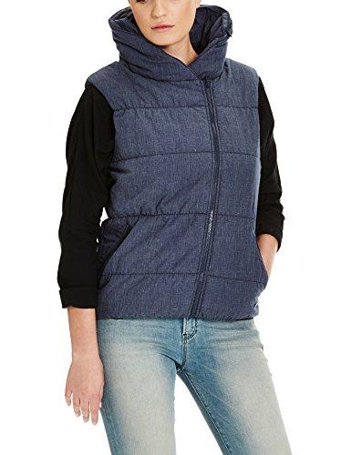 Bench Damen Sport Weste, Blau (Dress Blues Marl BL056X), 42 (Herstellergröße: XL)