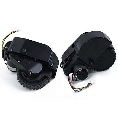 SDFIOSDOI Piezas de aspiradora Ajuste del Motor de la Rueda RGT Izquierda para la Excelencia Conga 990 Robot CLEABLE CLEABLE DE Recambio Absolute Limpieza DE HOGAR (Color : Right and Left Wheel)