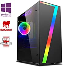 Vibox AX- 11 Gaming PC Ordenador de sobremesa con 2 Juegos Gratis, Windows 10 Pro OS (3,8GHz AMD A6 Dual-Core Procesador, Radeon R5 Gráficos Chip, 8GB DDR4 2400MHz RAM, 1TB HDD)