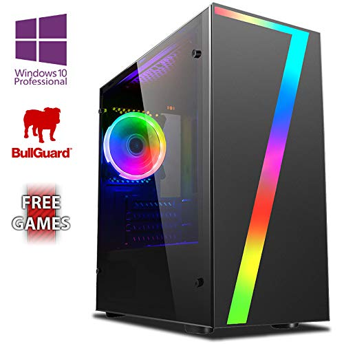 Vibox AX- 12 Gaming PC Ordenador de sobremesa con 2 Juegos Gratis, Windows 10 Pro OS, 22