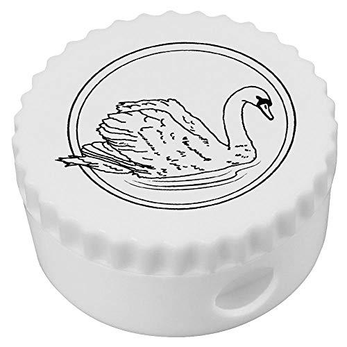 Azeeda 'Graceful Swan' Compact Pencil Sharpener (PS00013692)
