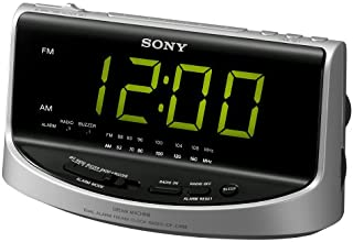 Sony ICF-C492 Large Display AM/FM Clock Radio (Discontinued by Manufacturer)
