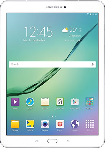 Samsung Galaxy Tab S2 - Tablet de 9.7' (WiFi, 32 GB, 3 GB RAM, Android Lollipop), blanco [Importado de Alemania]