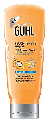 Guhl Feuchtigkeits-Aufbau Balsam Spülung, 4er Pack (4 x 200 ml)