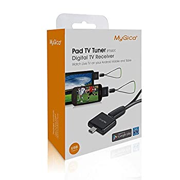 MyGica USB TV Tuner PT682C for Watching ATSC Digital TV Anywhere You go with Type-C Connector on Android Mobile or Pad  USB Type-C