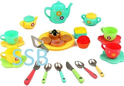 SSB WHOLESALE & RETAIL ® Tea Party Pretend Play Set for Kids Kitchen Toy