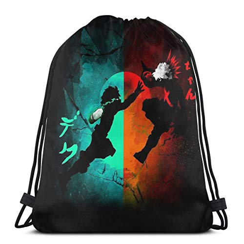 Non applicabile Eternal Rivals Sport Bag Gym Sack Zaino con Coulisse, Stile 1, Taglia Unica