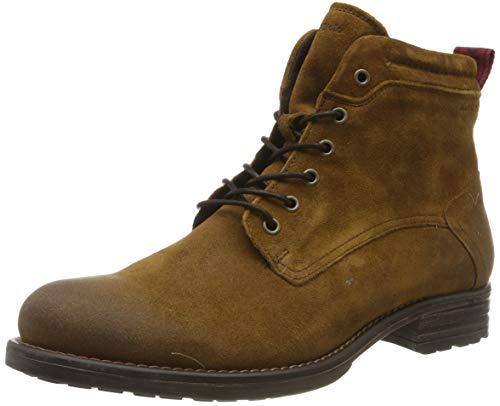 Marc O'Polo Herren 90825006301300 Biker Boots, Braun (Cognac 720), 42 EU