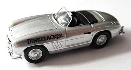 Dinkelacker Nr. - Dinkelacker Fassbierlieferung ca. 1936 - MB 300 SL auf Blechschild