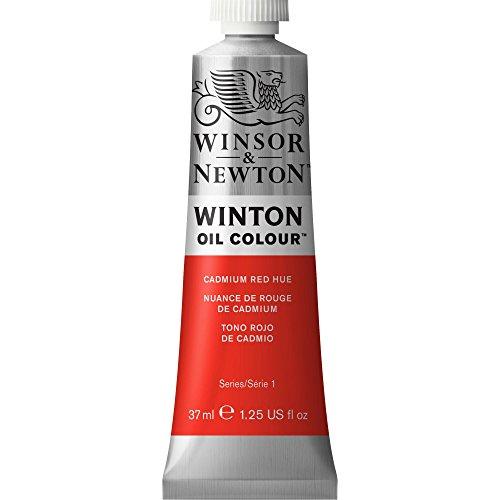 Winsor & Newton Winton - Tubo óleo, 37 ml, tono rojo de cadmio