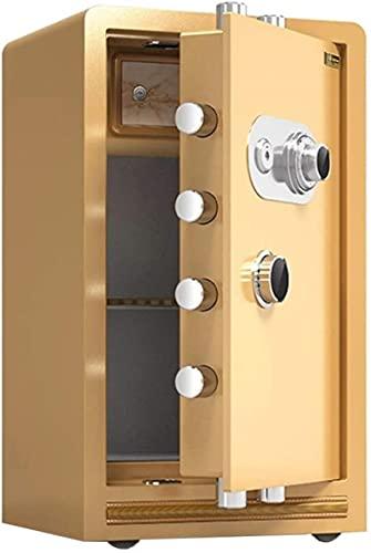 CXSMKP Caja fuerteCaja de Almacenamiento de Acero de Seguridad de Seguridad de Seguridad de Seguridad con Gran Capacidad