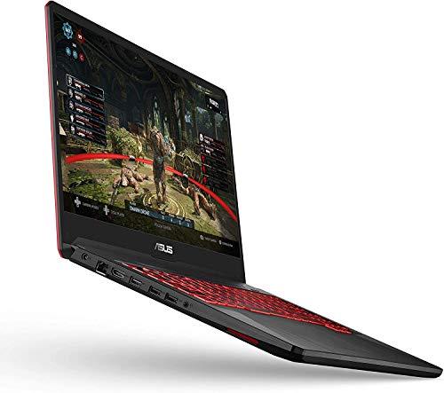 """Asus TUF Gaming Laptop, 17.3"""" IPS Full HD, AMD Quad-Core Ryzen 5 3550H, 8GB DDR4 Memory, 512GB SSD, AMD RX560X, Backlit Keyboard, Webcam, HDMI, Windows 10 + AllyFlex MP"""
