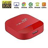 YEHUA WiFi Display Dongle, Adaptador HDMI Inalámbrico Pantalla 5G WiFi HDMI Adaptador Soporte 1080 HD DLNA / Airplay / Miracast para Android / iOS / Mac / Windows 8,10