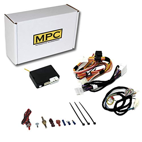 MPC Complete Factory FOB Activated Remote Start Kit for 2008-2013 Nissan Rogue - Plug-in T-Harness - Intelli-Key ONLY